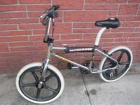 1983 Mongoose Expert frame and fork, GT Block Neck,