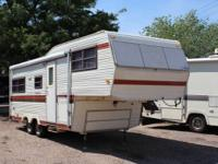 For Sale 1983 NuWa Hitchhiker 5th Wheel  	Nice 5th