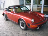 This local 911 Cabriolet appears to have all original