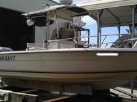 1983 Pursuit with new motor, new high def. radar and