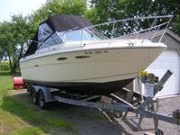 For sale 1983 Sea Ray Cuddy Cruiser powered by a