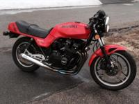 Selling my 1983 GS1100E with 20,500 miles and a clean