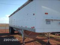For sale a 2 hole forty ft grain trailer in very good