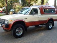 1983 Toyota SR5 Deluxe PickupFactory stripe delete and