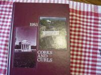 I have a 1983 UVA yearbook (Corks and Curls) for sale