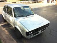 I have for sale my 1983 VW Rabbit GTI. ABA swap is