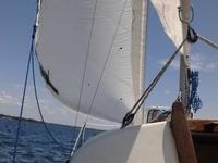1983 Watkins sail boat draft 2 1/2 foot recently