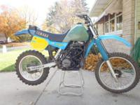 Runs excellent! 2-stroke, 490cc engine with 5 speed