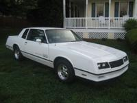 Description '83 SS Monte Carlo, Fresh New Carb, very