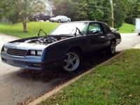 1983 Beautiful Slate Blue Monte Carlo SS. Production