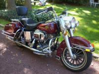 1983 Harley FLH Shovelhead. Most likely one of the