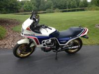 1983 Honda CX650 Turbo-This is one of only about 1800