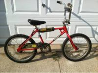 Have a nice condition Murray BMX bike. Sticker on bike
