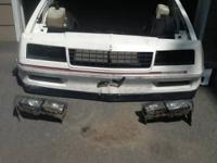 Hello there I. Selling a 1985 monte SS front end. It