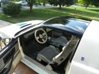 This rare 15th. Anniversary Trans Am was purchased from