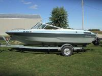 1984 19 foot Conroy Bowrider, Mercruiser 120 with nice