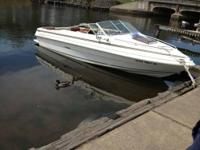 84 SEARAY 19' CUDDY CABIN, NEW AM/FM CD WITH REMOTE,