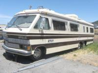 ! Very HIGH END CLASSIC motorhome with good paint, body