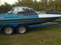 I have a 1984 BAJA 200 SS speed boat 20ft with 350+ hp