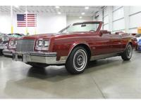 Here is a rare 1984 Buick Riviera Convertible for sale.