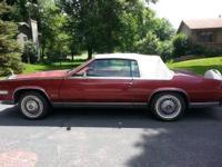 1984 Cadillac Eldorado, convertible, front wheel drive.