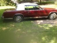 1984 Cadillac Eldorado - 2 door/Coupe. Interior: