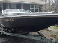 1984 Checkmate 20ft 200hp 1985 Merc Blackmax with jack
