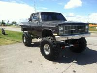 Monster Truck Built 350 v8 with 4 speed and bull dog 42