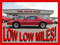 ****** ONLY 51,000 ORIGINAL MILES!!! ****** 1984