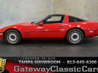 Stock #556-TPA 1984 Chevrolet Corvette  $9,995 Engine: