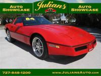 1984 Chevrolet CORVETTE Two-Door Coupe Our Location is: