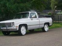 1984 Chevrolet Custom Classic Truck This classic truck