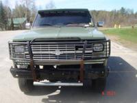 1984 Chevrolet Military Blazer M1009 CUCV 4X4 . I