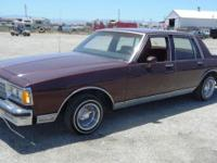 1984 CHEVY CAPRICE AC, HEATER, POWER WINDOWS, POWER
