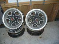 Set of 4 Original 1984 Elcamino Rims Good Condition