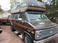 1984 Chevy/Horizon conversion, Nice Old Camper, It has