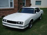 This 1984 Chevy Monte Carlo SS is very clean and has a
