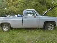 1984 Chevy Scottsdale long bed. Excellent engine, sweet