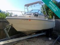 This classic Cobia has been re-powered with a 2006