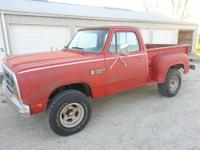 HERE IS A NICE PICKUP DRIVE IT ANYWHERE 4X4 IN GOOD
