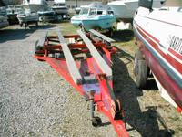 Ready to carry three PWCs Our 15 acre boat yard has