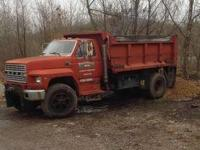 1984 Ford 8000. 1984 Ford 8000 Dump Truck design in
