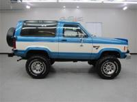 LOOK !!!!....7,252 actual miles !!!1984 Ford Bronco ll