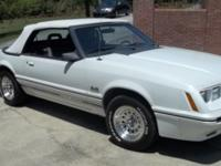 Very sharp 1984 Ford Mustang Convertible GT 350 V-8