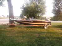 120 HP Johnson Motor, 2 Fish finders with trolling