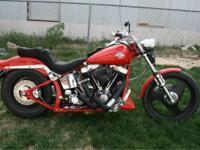 1984 Harley Davidson FXST Softail EVO- - 1984 Harley