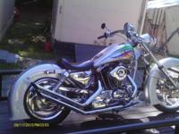 1984 Harley Davidson Ironhead ..15,000 Miles ..Silver &
