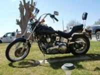 1984 Harley Davidson Softail,new motor has 3367 miles