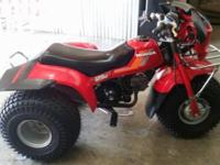 I have a garage kept 1984 Honda 125m 3 wheeler. Has all
