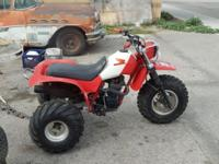 I HAVE A 1984 HONDA 200 X ATC FOR SALE - RUNS GOOD